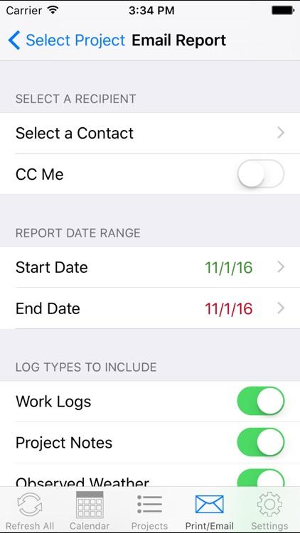 OnSite Logging Pro screenshot-3