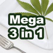 Mega Marijuana Cookbook app review