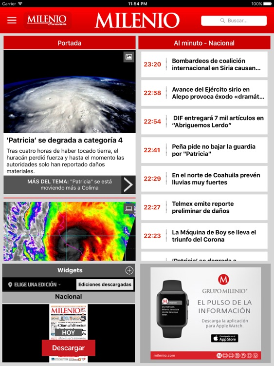 Milenio Impreso screenshot-0