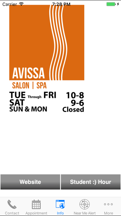 Avissa Salon screenshot four