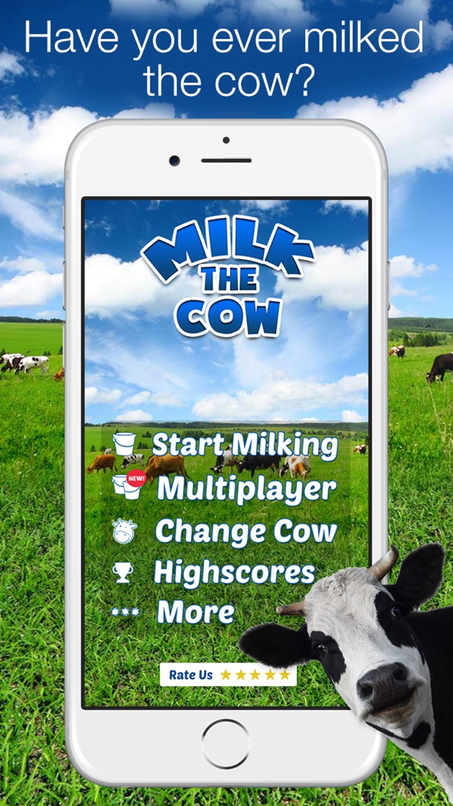 Milk The Cow - Kuh Melken Screenshot