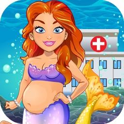 Mermaid Doctor Salon Baby Spa Kids Games