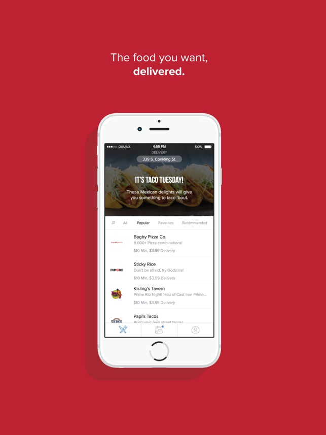 orderup food delivery on the app store