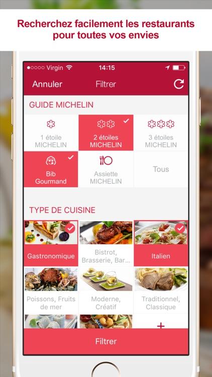 MICHELIN Restaurants - Recherche et Réservation screenshot-3