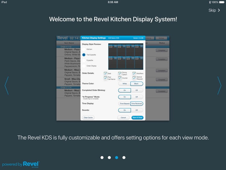 Revel Kitchen Display System for iPad POS screenshot-3