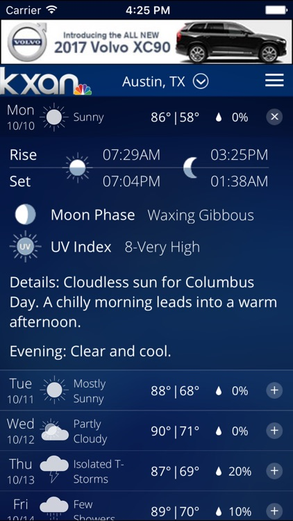 KXAN Weather - Local Austin Radar & Forecasts screenshot-4