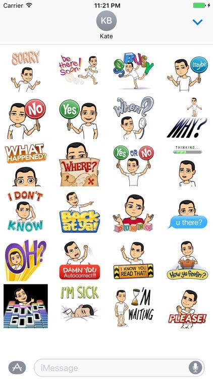 Quick replies stickers - emoji - emoticons