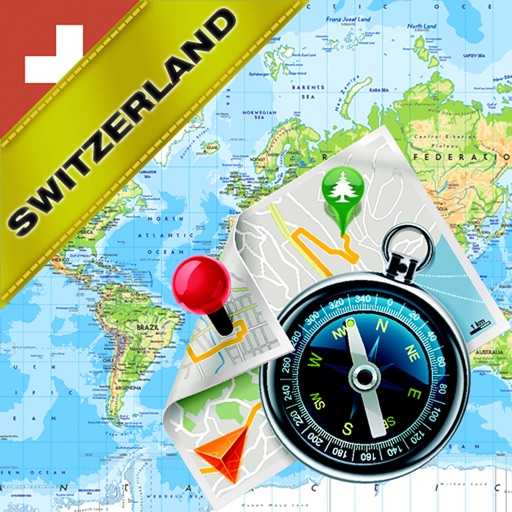 Switzerland fline Map & GPS Navigator by Vasilijs Nikitins