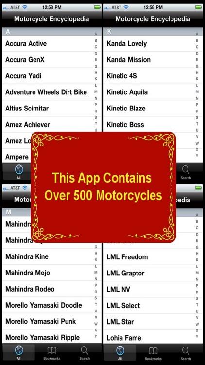 Motorcycle Encyclopedia screenshot-4