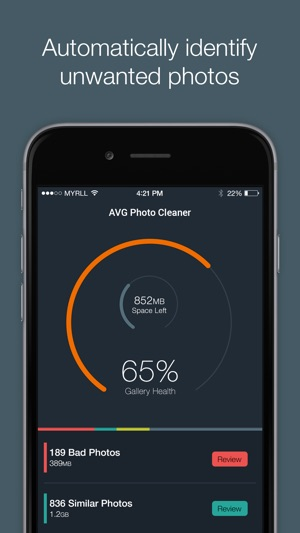 AVG Photo Cleaner and Manager Screenshot