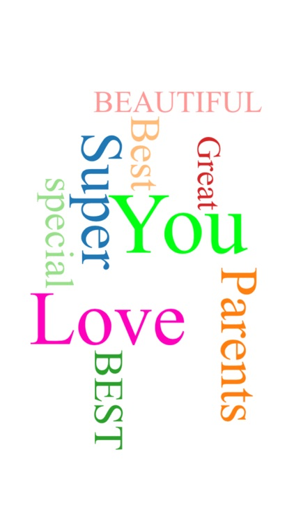 Create Thankful Creative Memories with Word Cloud screenshot-3