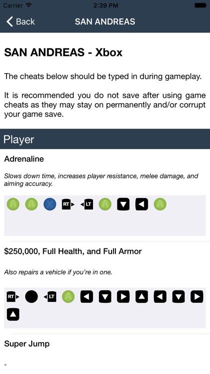 Cheat codes for GTA 5 screenshot-4