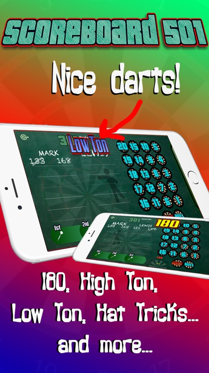 Darts Scorekeeper 501 x01 screenshot-2