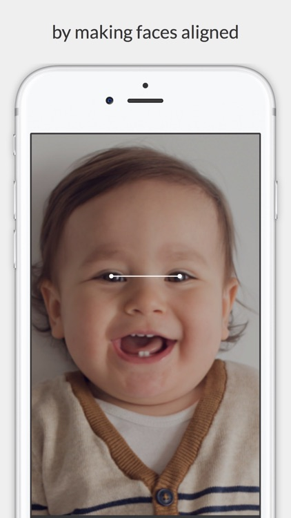 Facelapse - face changes over time in slideshow
