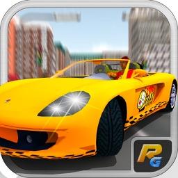 Crazy Taxi Driver 3D City Rush Adventure