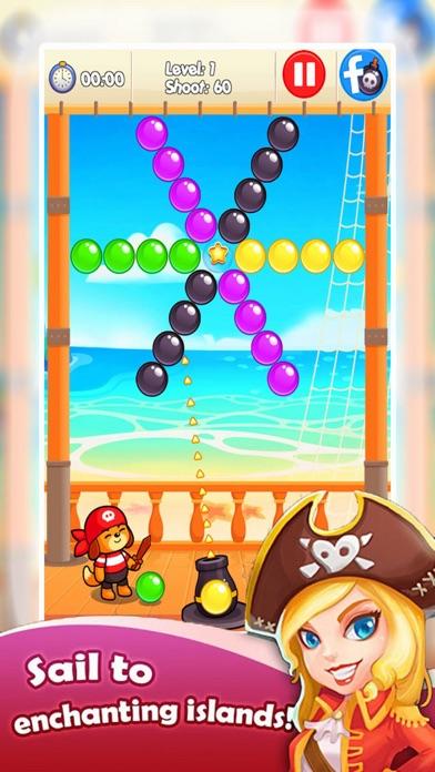 Ball Bubble Ship - Treasure Ocean screenshot one