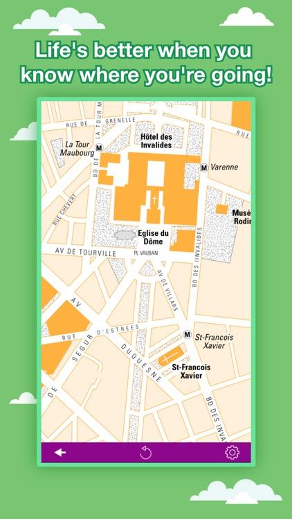 Paris City Maps - Discover PAR with Metro & Bus screenshot-4