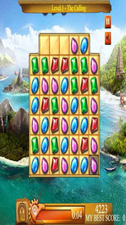 Jewel Candy Match Puzzle screenshot-3
