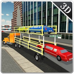Limo Transporter Truck Simulator - Transport cars