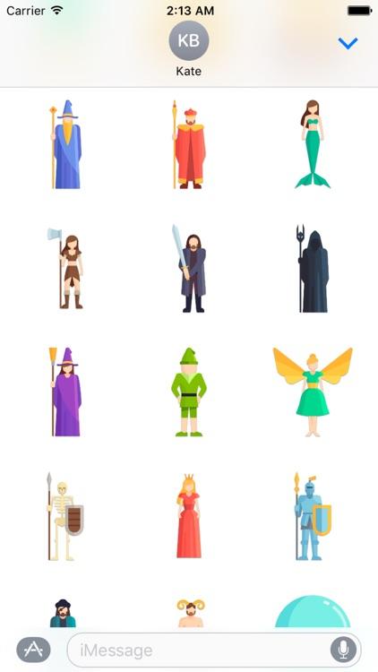 Fairytale Sticker Pack screenshot-4