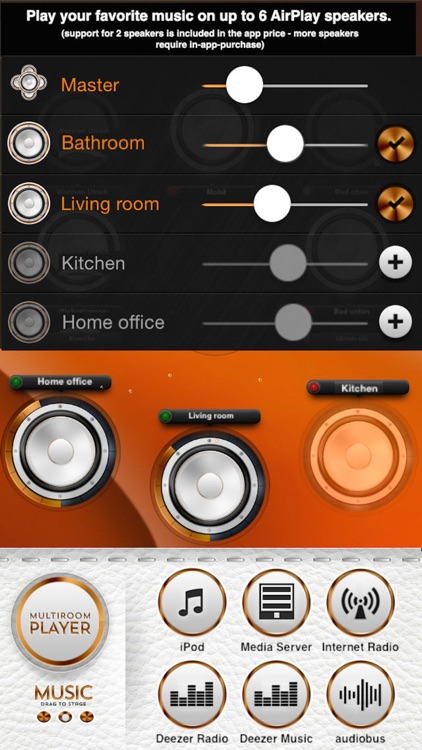 WHAALE Multiroom Player for AirPlay speakers screenshot-0