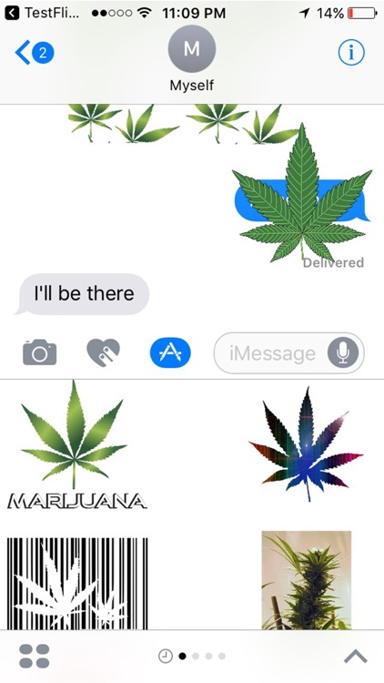 Weed Stickers for iMessage screenshot-4