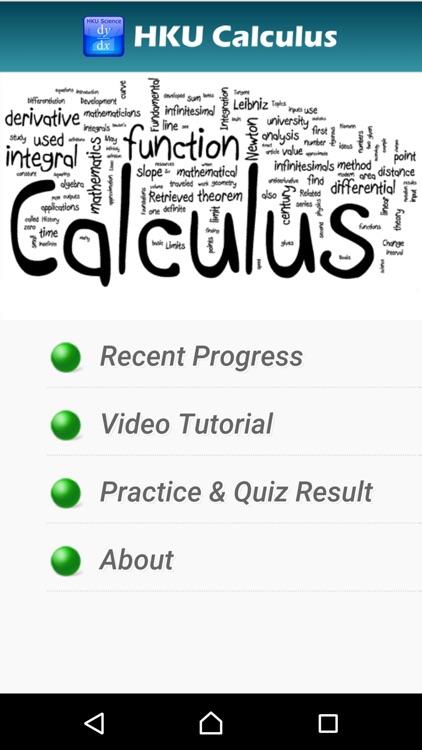 HKU Calculus