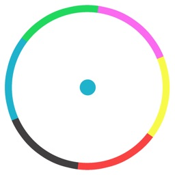 Dot Bounce In Circle- Free Endless Color Game Mode