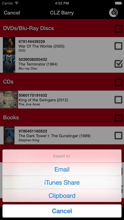 CLZ Barry - Wireless Barcode Scanner screenshot-3