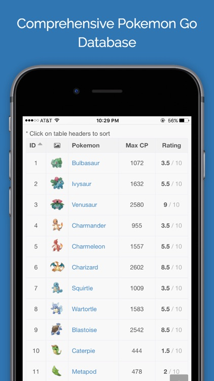 GoPress - Database, Tools, and News for Pokemon GO screenshot-1