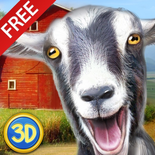 Farm Goat Simulator: Animal Quest 3D icon