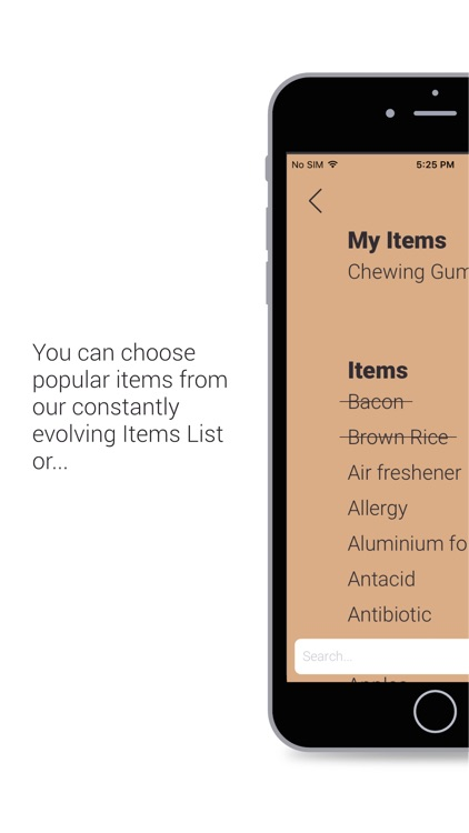 daFridge - Your Grocery List Helper