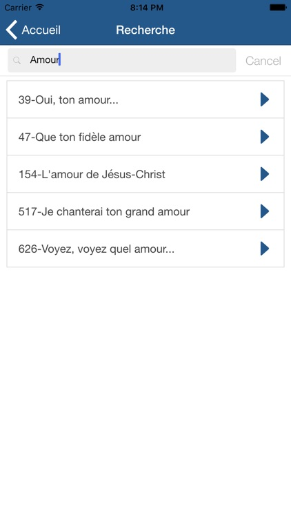 Hymnes et Louanges : SDA hymnal french screenshot-3