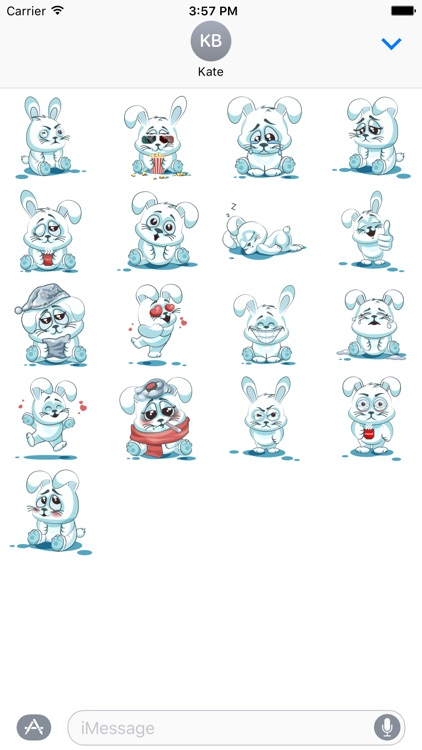 Bunny Stickers Pack