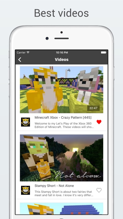 MineHub - Best videos and tutorials for Minecraft