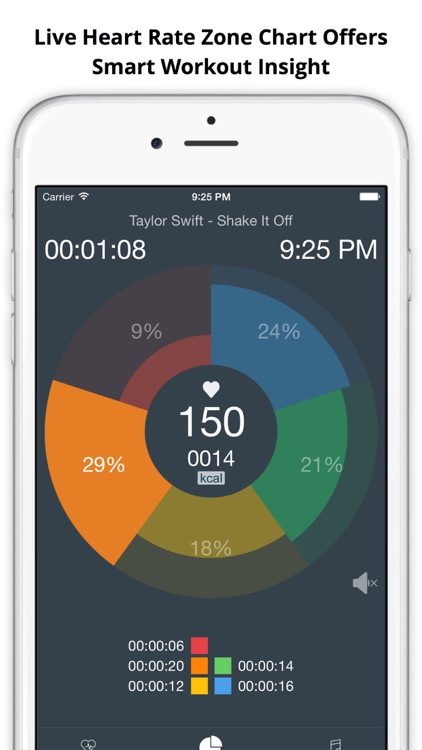 MotiFIT - Workout Tracker + Heart Rate Monitor screenshot-2