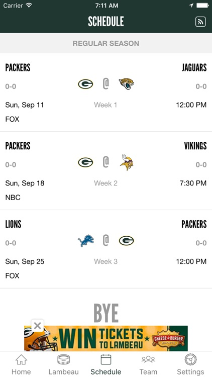 Official Green Bay Packers screenshot-3