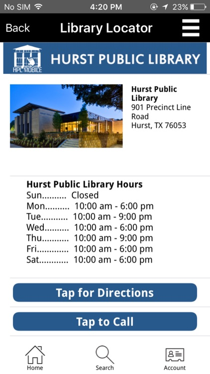 Hurst Public Library screenshot-4