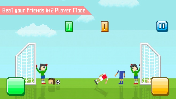 Funny Soccer - Fun 2 Player Physics Games Free screenshot-3