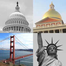 Activities of US Cities and State Capitol Buildings Quiz