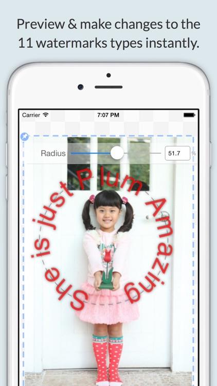 iWatermark+ Lite Add Watermark screenshot-0