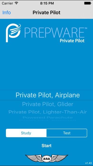 Screenshot for Prepware Private Pilot in United States App Store