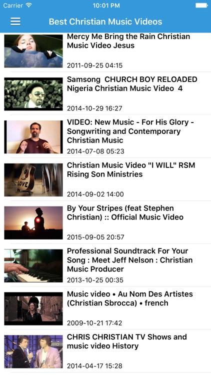 Christian Gospel Music Free - Worship Songs, Radio & Music Videos screenshot-3
