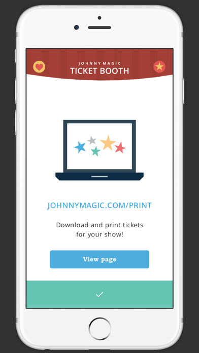 Johnny Magic Ticket Booth screenshot two