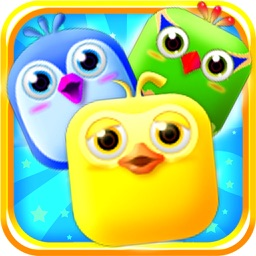 Bird Candy Smash Mania-Cute Match-3 Puzzle Games
