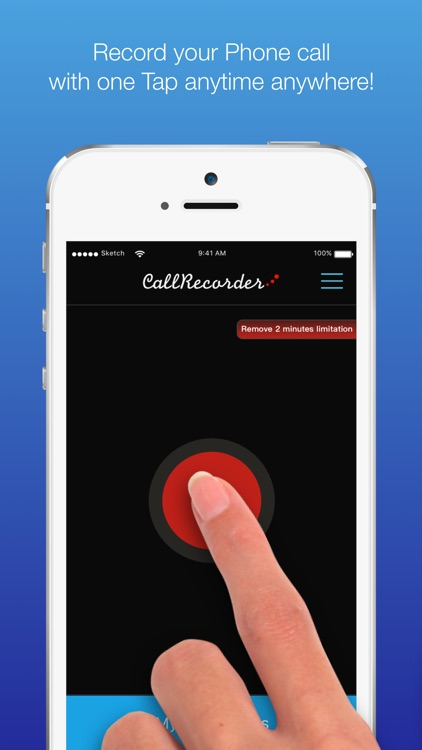 Call Recorder - for recording telephone call