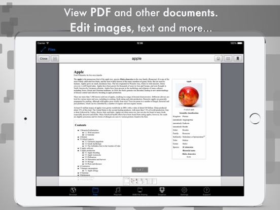 Screenshot #4 for eDl HD Free - Web Browser and File Manager