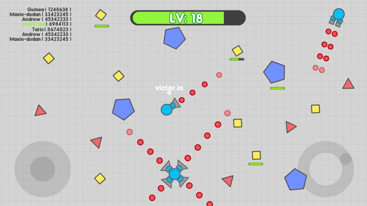 Tank.IO War - Free Tank games of snake screenshot-3