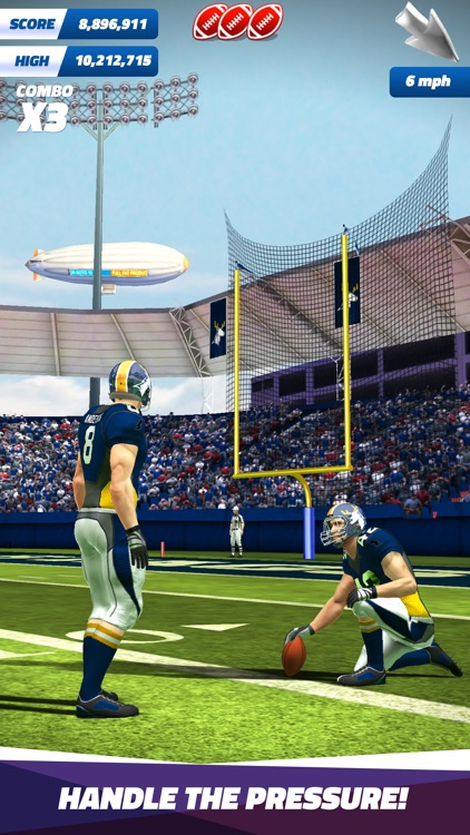 Flick Field Goal 17 screenshot-0