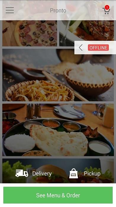Screenshot for FoodBooking in Lebanon App Store